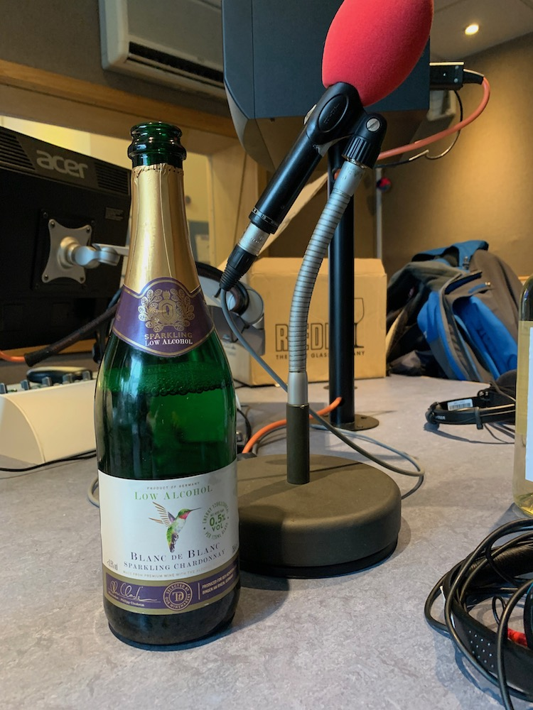 low alcohol sparkling wine